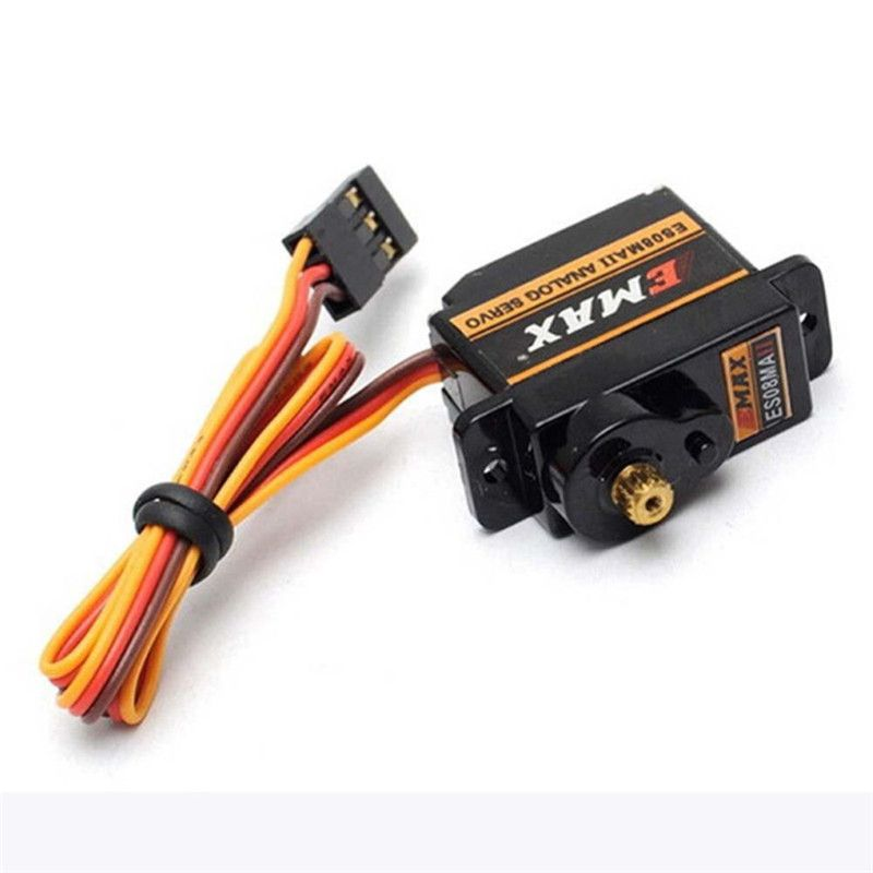 Mini Size Metal Gear Analog Servo ES08MA II for RC Motor Replacement Part Shockproof and Stable RC Servomotor Metal Gear jx pdi 5521mg 20kg high torque metal gear digital servo for rc model