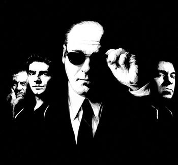 100%Handmade Sopranos Oil Painting, not a print or poster. Godfather Goodfellas