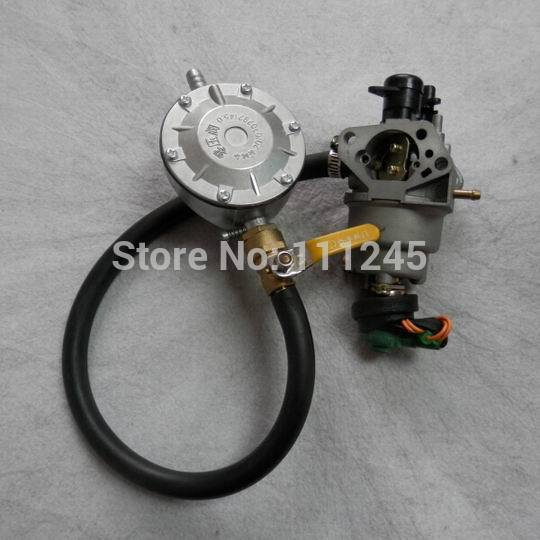 5KW TRI FUEL CONVERSION KIT FOR HONDA GX390 AX390 IC390 188F GENERATOR MULTI CARBURETOR NG LPG
