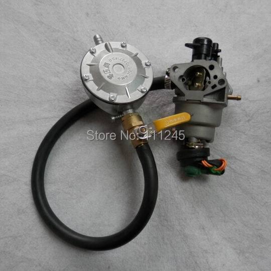 5kw tri kraftstoff umrüstsatz für honda gx390 ax390 ic390 188f generator multi vergaser ng lpg propan carb liquefield adapter