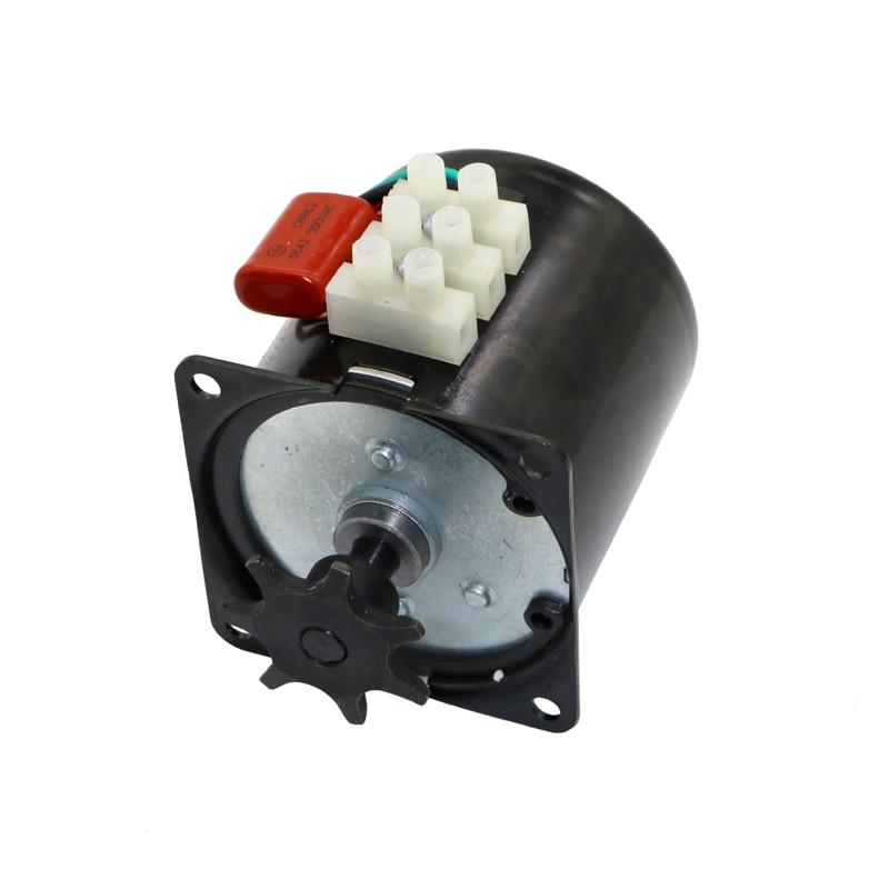 Incubator Turn The Eggs Motor Engine Reversible Geared Motor 220V Incubator Accessories For Most Incubator 2.5r/min