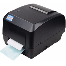 Xprinter 열전 사 프린터 라벨 바코드 프린터 POS Logistic Jewlery Retail 용 108mm 인쇄 폭 USB 인터페이스