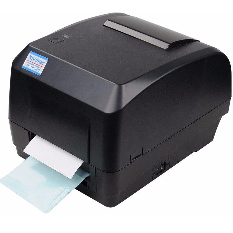 Xprinter Thermal Transfer Printer Label Barcode Printer 108mm Print Width USB Interface For POS Logistic Jewlery Retail