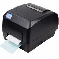 Xprinter Thermal Transfer Printer Label Barcode Printer 108mm Print Width USB Interface for POS Logistic Jewlery Retail