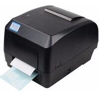 Xprinter impressora de transferência térmica etiqueta código de barras impressora 108mm largura de impressão interface usb para pos logística jewlery varejo