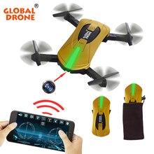 Mini Pocket Drone Selfie Fold Drone with 2 0MP HD Camera Wifi Phone Control RTF Quadcopter