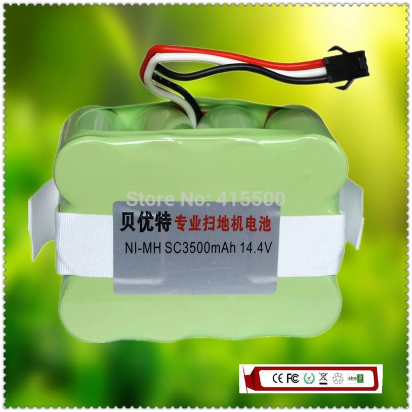 Reemplazo libre del envío automático Partes de aspirador xr510 xr510c xr510d 3500 mAh 3.5ah 14.4 V ni-mh 1 unid