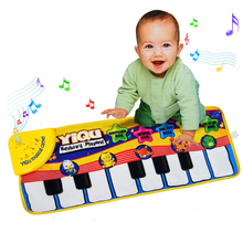 Piano Music Game Carpet Baby Crawling Mat Blanket Kids Educational Musical Toys Gift Children Play Fun Toys With Box Package