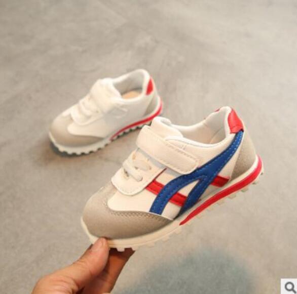 2019 Neue Ankunft Einzigen Netzwerk Sport Schuhe Weiblich Männlich Turnschuhe Kind Laufschuhe Kinder Atmungs Leinwand Schuhe Baby Stiefel SpäTester Style-Online-Verkauf Von 2019 50%