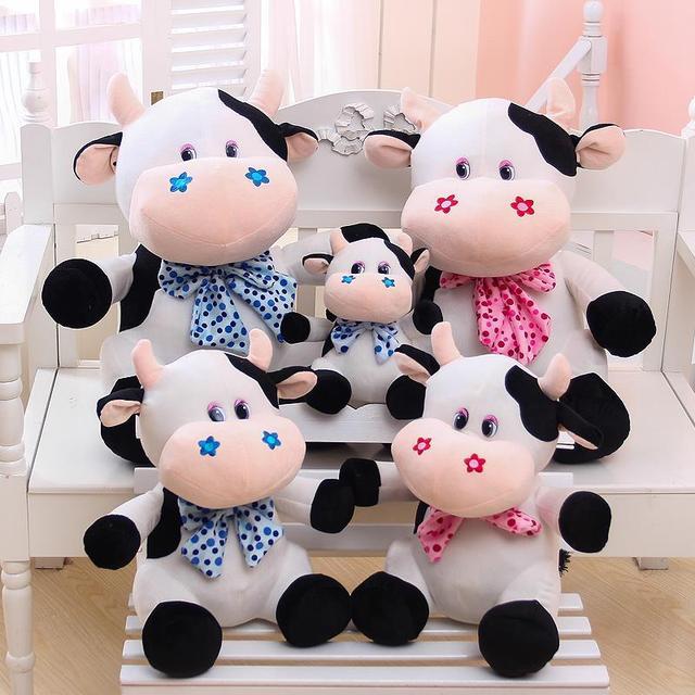 Cute Doll Niuniu Small Cow Plush Toy Doll Doll Creative Pillow
