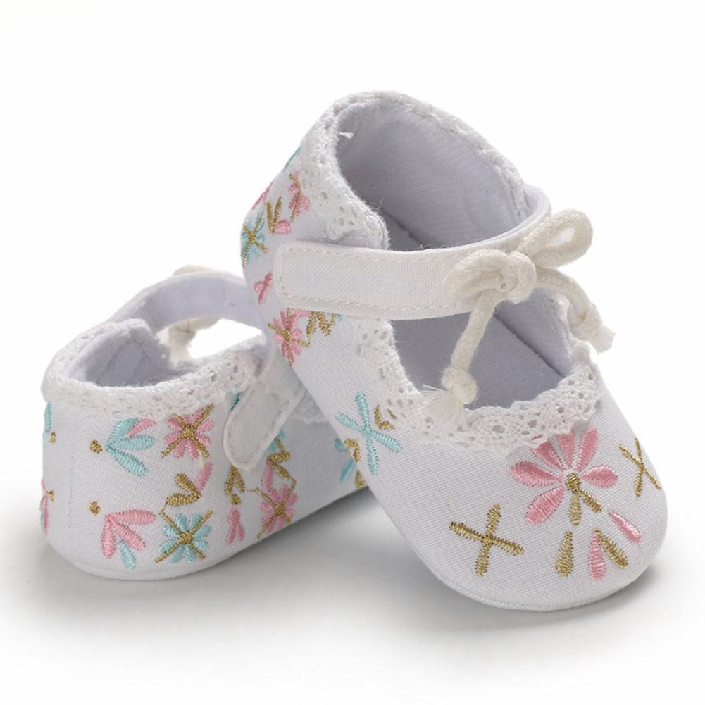 Girl Flat Baby Shoes Infant Fashion Soft Sole Princess