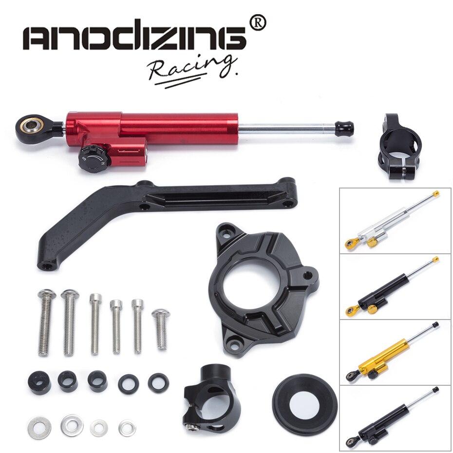 Бесплатная доставка Для Kawasaki Z1000 2014-2016 мотоцикла cnc алюминий руля стабилизато ...