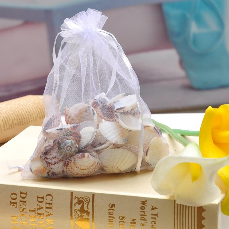 přírodní řemesla Pro rozhodování skořápky košů dekorace skořápka vroubkování přírodní mořské mušle ulita 1 pytel 100g bílé mušle