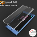 IMAK Anti-Explosion 3D Curved Full Cover Tempered Glass For Sony Xperia XZ F8331 Dual F8332 Screen Protector for Sony XZ Glass
