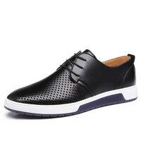 Chaussure en cuir design épuré