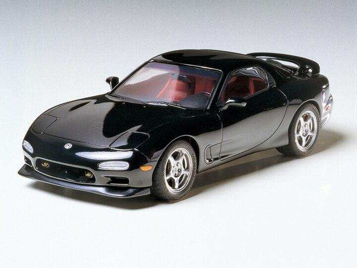 Wenshin 1:24 Mazda RX 7 модель автомобиля 24116 (с внутренней структурой двигателя)