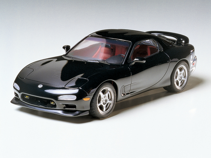 Wenshin 1:24 Mazda RX 7 Car Model 24116 (with Engine Internal Structure)