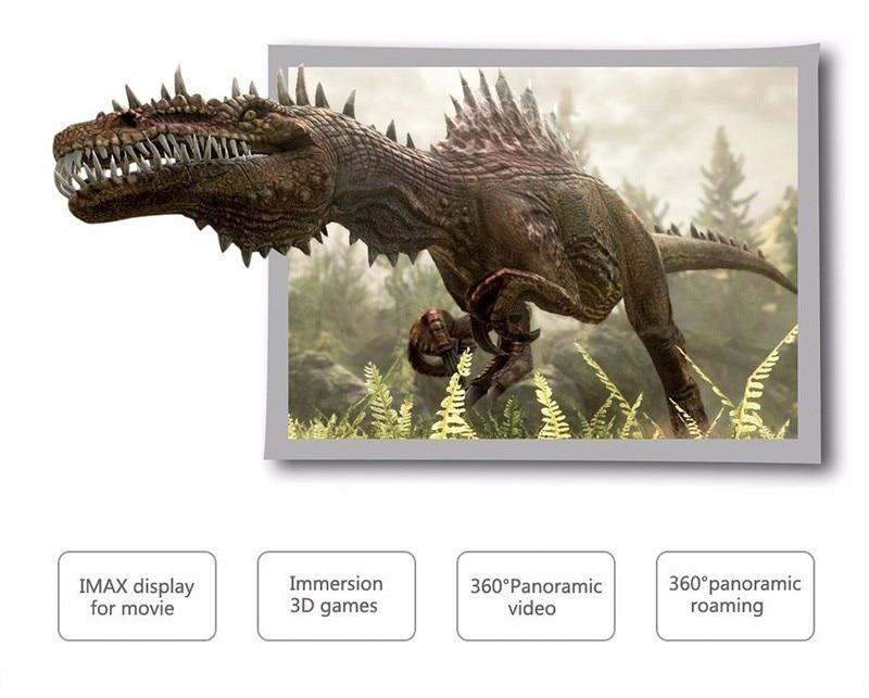 VR Shinecon 2.0 Google Cardboard VR BOX 2.0 Virtual Reality goggles VR 3D Glasses Immersive for 4.5-6.0 inch smartphones 22