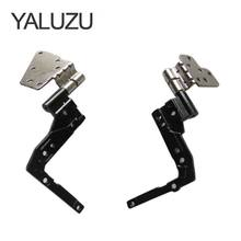 Yaluzu Baru Laptop LCD Engsel UNTUK Dell Latitude 5530 E5530 Seri Notebook Kiri + Kanan AM0M1000100 AM0M1000200 1 Pair(China)