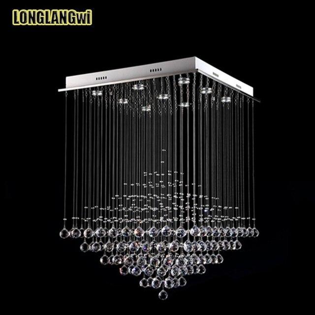 Duża Nowy Nowoczesne Kryształowe Lampy Sufitowe Led Minimalistyczny