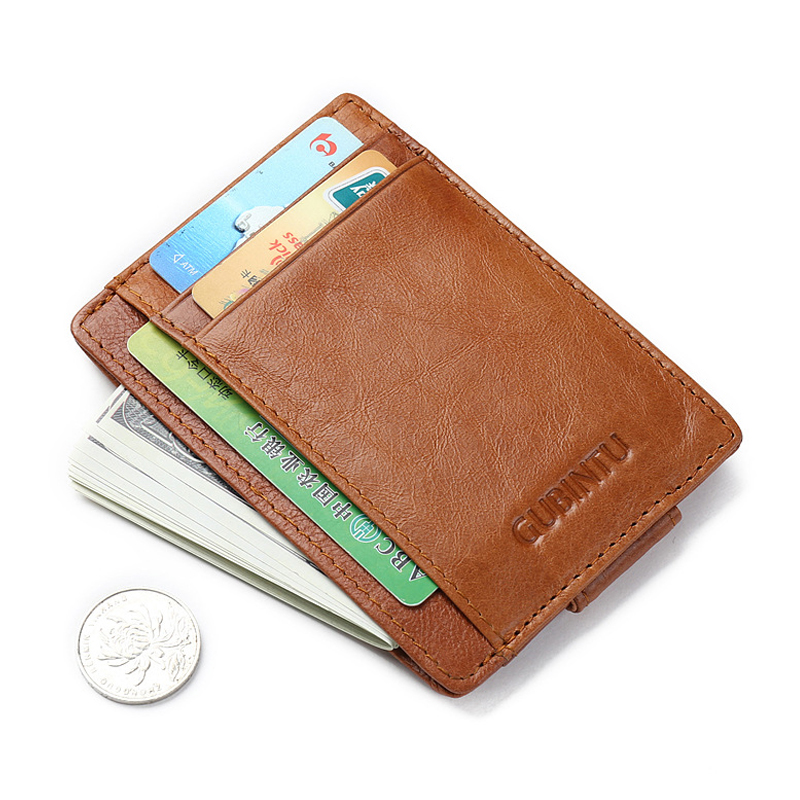 Men Wallet Genuine Leather RFID Card Coin Holder 2017 Hot Sale Money Clip Famous Brand Dollar Price Slim Casual Cash Male Purse hot sale 2015 harrms famous brand men s leather wallet with credit card holder in dollar price and free shipping