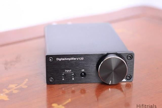 Free shipping I.A,.DDAV120 USB audio input fiber coax home stereo audio digital-power HI-FI amplifier 50W 24bt / 192KHz of + 50W