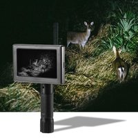 DIY Night Vision Scope Hunting Night Vision Scope with Display Screen Handheld Infrared Night Vision Sight Security Camera