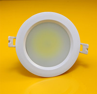 Hot Sale IP65 Waterproof COB 21W LED Downlight Fixture Ceiling Down Lights Warm Cool Decorative Recessed