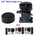 CENINE 12Mp Ir Lens For Go Pro Accessories 150 Degree Glass Ultra Wide Angle Lens For Gopro Hero 4 3 3+ Replacement Kit