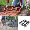 2020 new Path Maker Concrete Mold Reusable Paving Durable for Garden Lawn YU Home