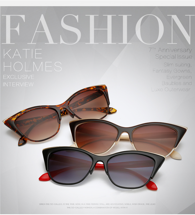 4c688b4819 Gafas de sol de ojo de gato para mujeres Sunglass Men Lentes Opticos Hombre  Gafas Lunettes de Soleil Femme Eyewear Shades Rays Bril