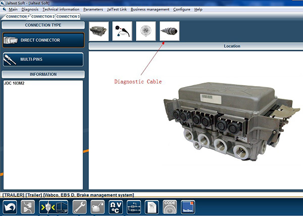Altest Link Coder Reader Für Paccar Peterbilt Kenworth Freight ...