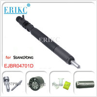 ERIKC injector EJBR04701D diesel common rail injector A6640170221 for Ssangyong KYRON D20DT Euro 3