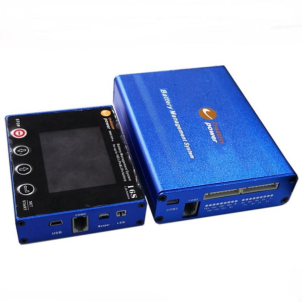 Chargerie BMS16T BMS pour 2 S 16 S 100A Li ion LiPo LiFePo4 LTO avec 1.2A Balance SOC affichage Winston CALB batterie Pack-in Batteries from Electronique    1