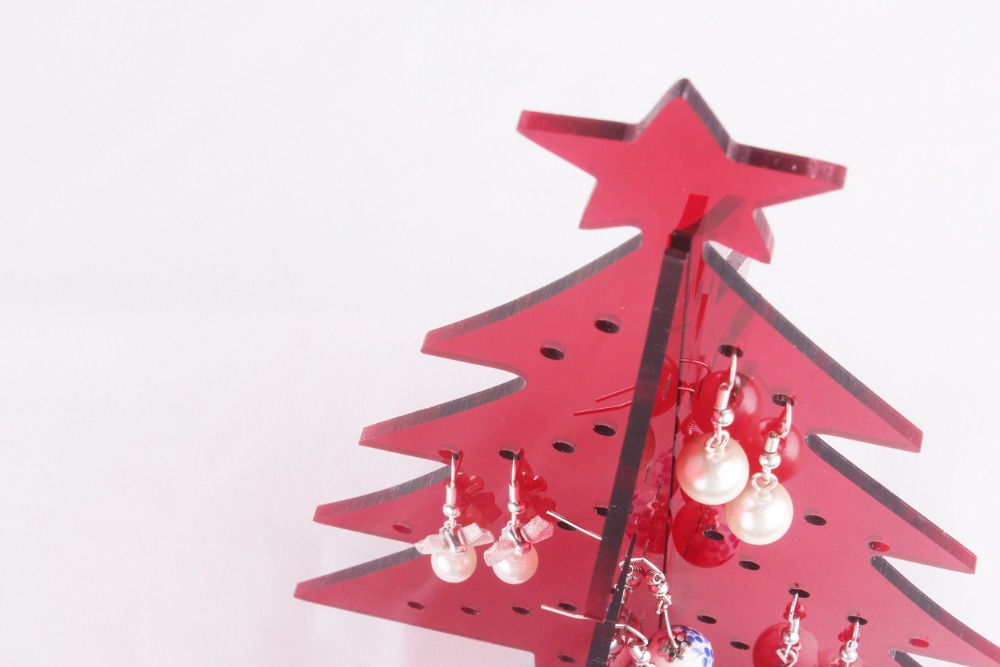 Gift ideas ornaments christmas tree ornaments acrylic earring
