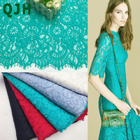 1.5*1.5 Meters 2017 Fashion Lace Fabric Hollow Nigerian Guipure Cord Lace African Thick Lace Fabric,Green White Black Red lace