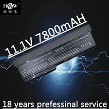 7800mAh Notebook For Dell Vostro 1310 Battery 1320 1520 1510 T114C T112C 0N241H 312-0724 451-10655 K738H N950C U661H akku