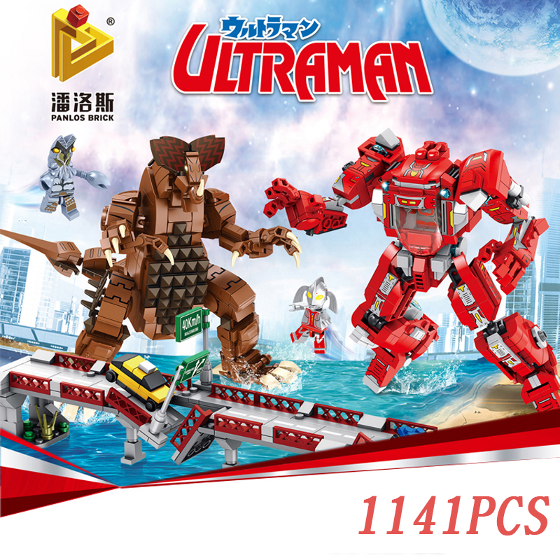 Ultraman Vs Tyrant Monster Legoings Moc Creator Star Movie War Robot Building Blocks Bricks Classic Marvel Model Toys For Boys Ideal Gift For All Occasions Model Building Toys & Hobbies