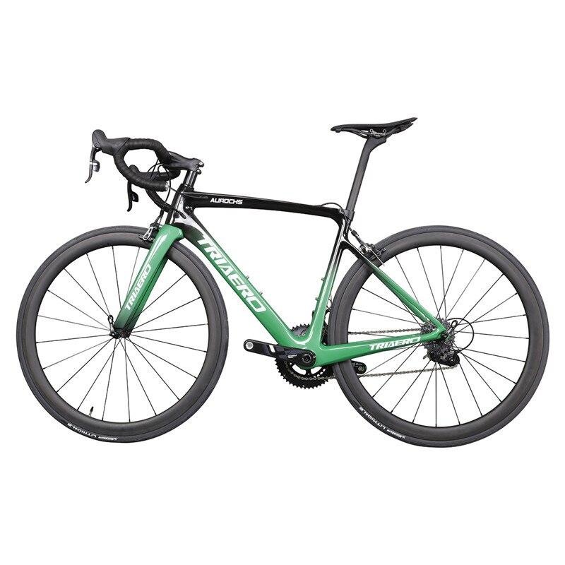 2019 Light Aero Carbon Road Bike 700C Racing Bikes