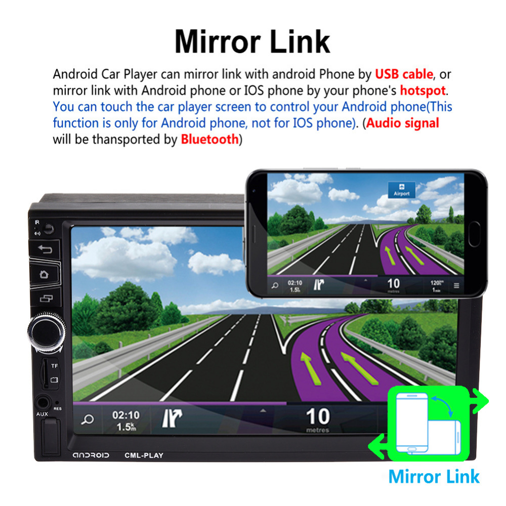 Αποτέλεσμα εικόνας για 7030CA CAR MP5 PLAYER GPS ANDROID