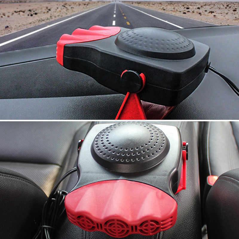12 v 150 watt Rot Auto Elektrische Heizung Tragbare Fahrzeug Heizung Kühlung Auto Heizung Warm Fan Auto Defroster Demister Auto zubehör
