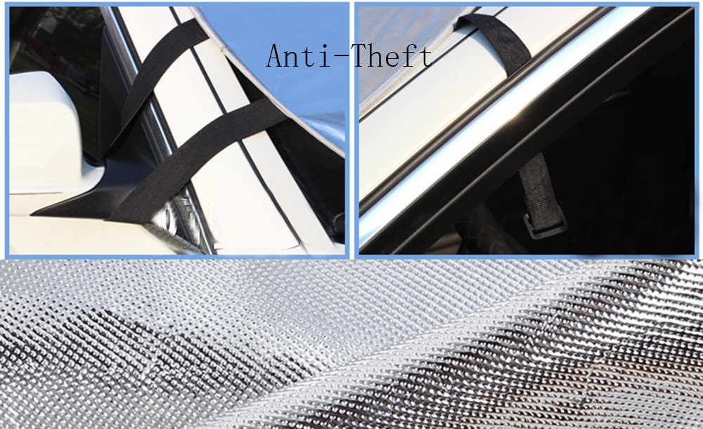 Image 3 - Car Sun Shade Auto Curtain Jumbo Foldable Auto Car SUV Sun Shade Visor Block Front Window Windshield Cover Sunshade Car-in Windshield Sunshades from Automobiles & Motorcycles