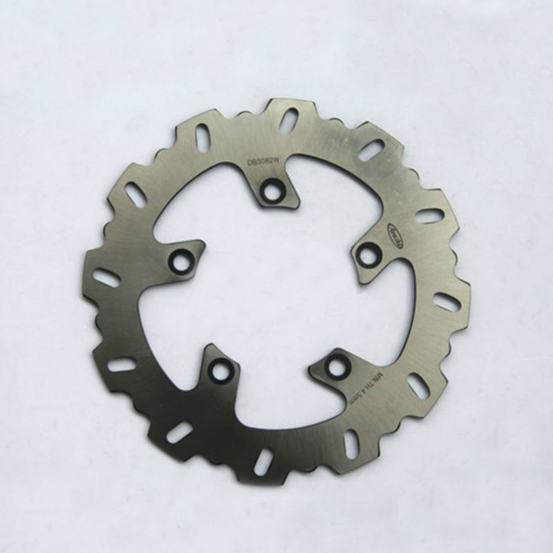 1 Pcs Motorcycle Rear Brake Rotors Disc Steel Braking Disk for Yamaha FZ600 FZ6 S2 2007-2008 XJ600 XJ6 DIVERSION 2009 2010 2011 1 pcs motorcycle rear brake rotor disc braking disk for yamaha xp 500 t max 2001 2011 xp500 tmax abs 2008 2011