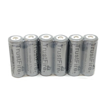 20pcs/lot TrustFire TR 18500 1800mAh 3.7V Rechargeable Protected Battery Camera Flashlight Torch Batteries with PCB