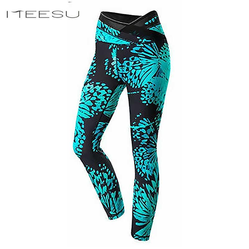 9962d8dea1f01 Detail Feedback Questions about Woman Sport Leggings High Waist Elastic  nepoagym yoga Tights Fitness yoga Cropped Gym Running mallas gym leggings  colorva on ...