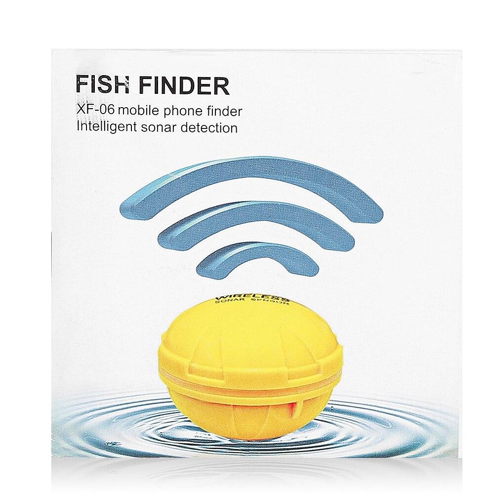 Détecteur de poisson sans fil Outlife capteur Sonar Portable sondeur écho sondeur Bluetooth profondeur mer lac poissons détecter dispositif iOS Android - 2