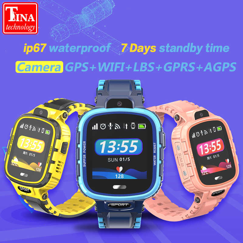 IP67 Waterproof TD26 Kids Smart Watch GPS WIFI Kids Tracker Phone Smart Watch GPS Children SOS Monitoring Positioning Long time