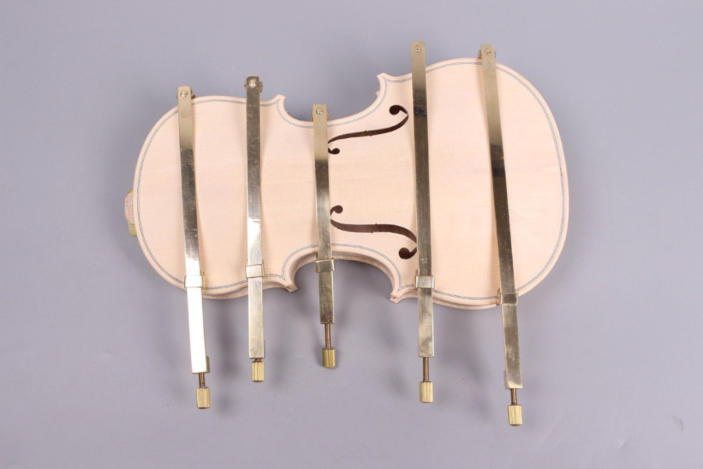 1set violin Making Tool brass repair crack clamp,Luthier tool Violin Body Hold