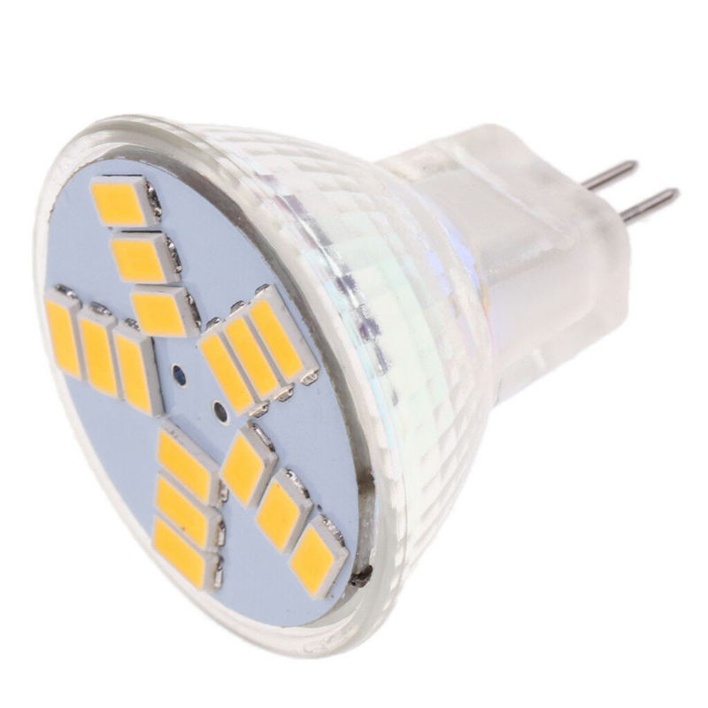 MR11 LED Bulb 3W 5W 7W AC/DC12V GU4 LED Spotlight 9 12 15LEDs 5730 SMD Led Light Bulb Warm/Cold White Lamp Replace Halogen Ligh