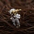 GZ 925 Anel de Prata Esterlina S925 Thai artesanal Nascimento anillos Anéis para as mulheres de Jóias de Prata Dos Homens Masculinos